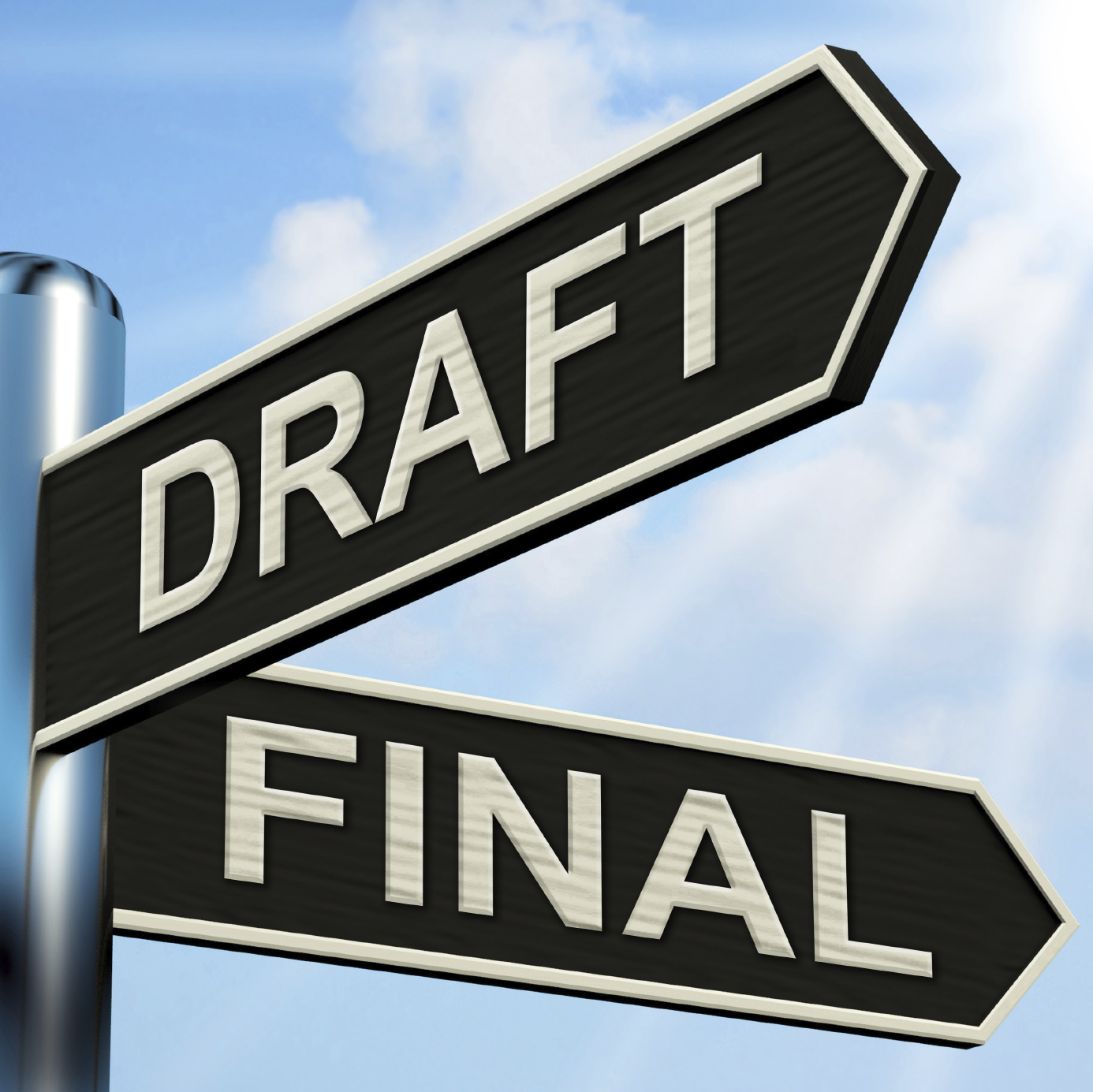 how to make sides in final draft 10