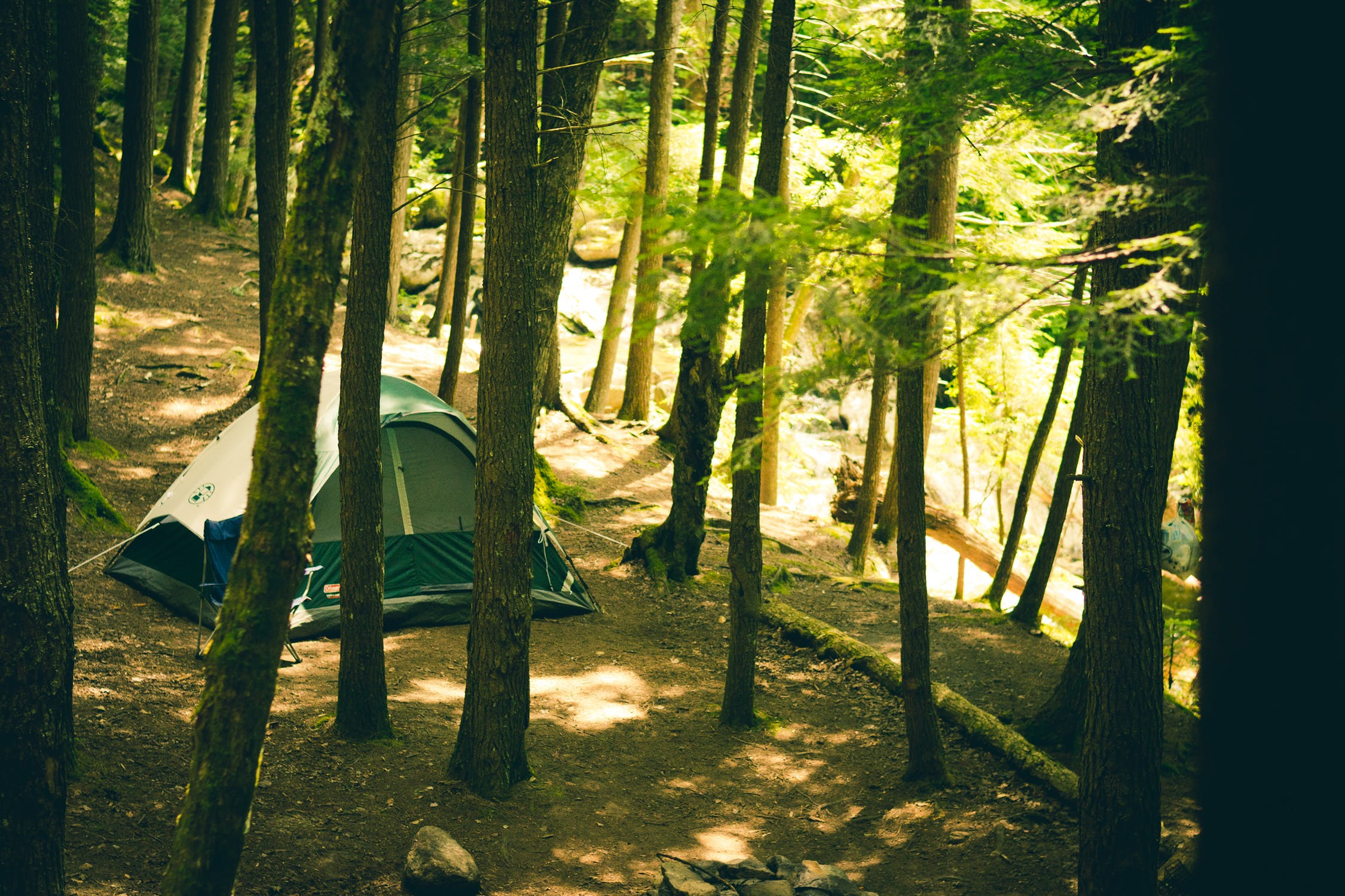 About Us page for camping supplies business