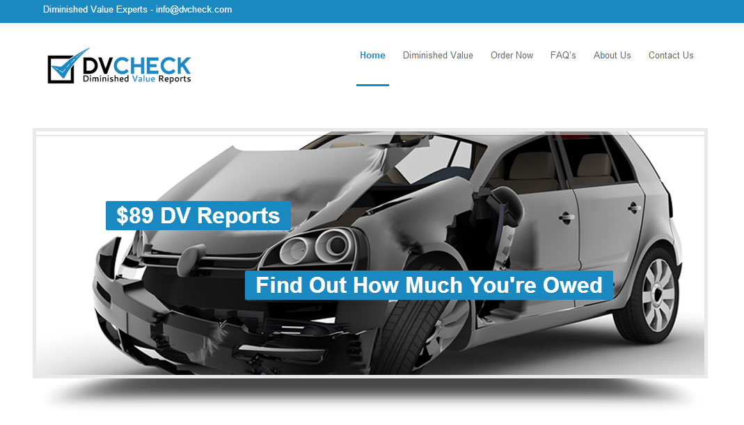 DV Check Homepage