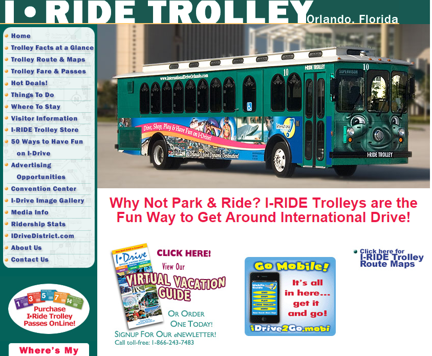 i-riderolley homepage