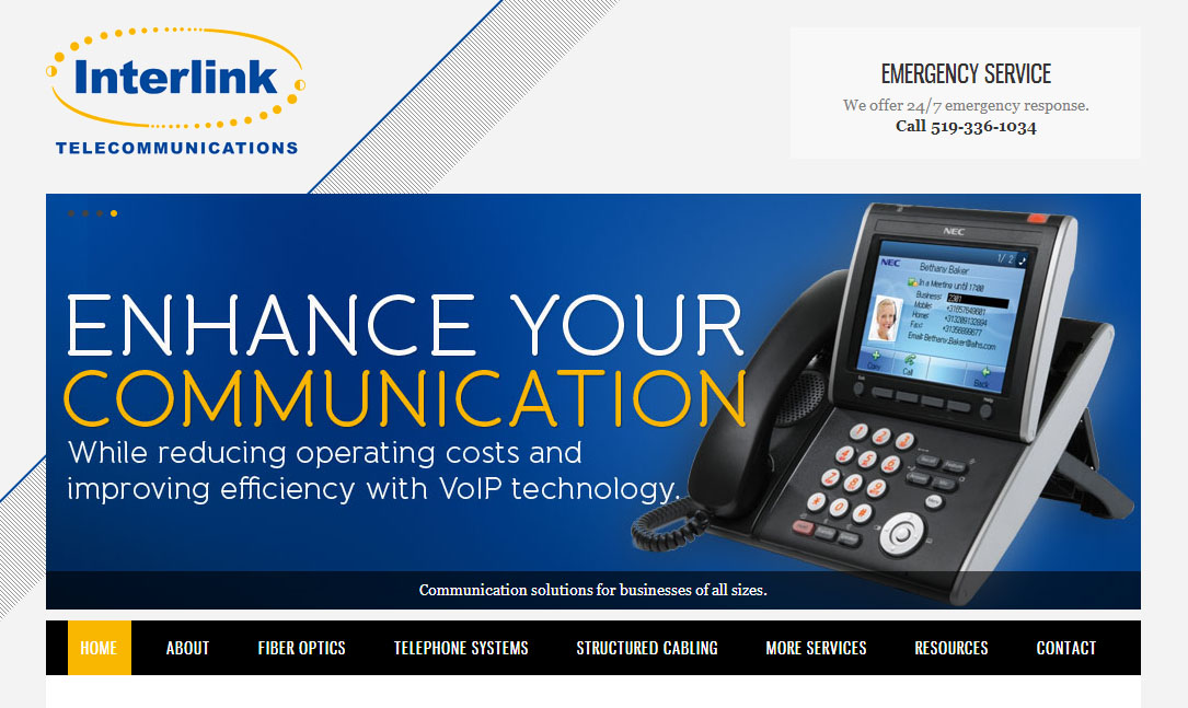 Interlink Telecommunications Homepage
