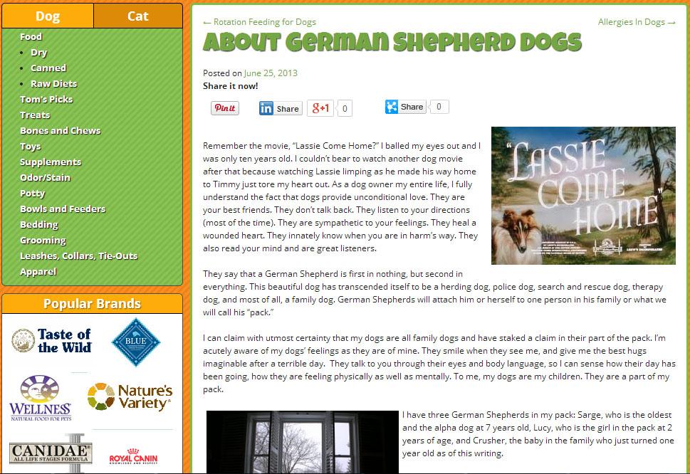 Pet Food Zoom Blog Post