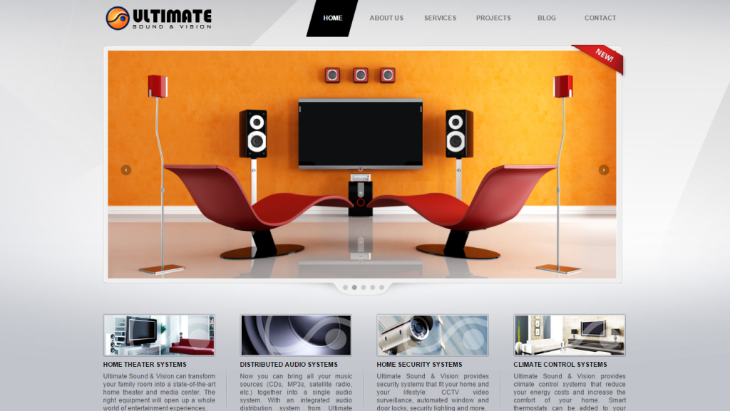 ultimate sound and vision homepage