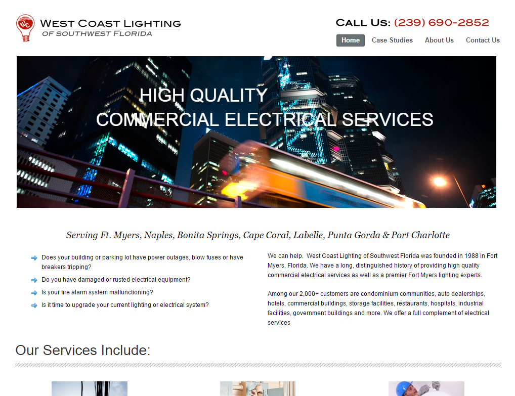wc lighting homepage