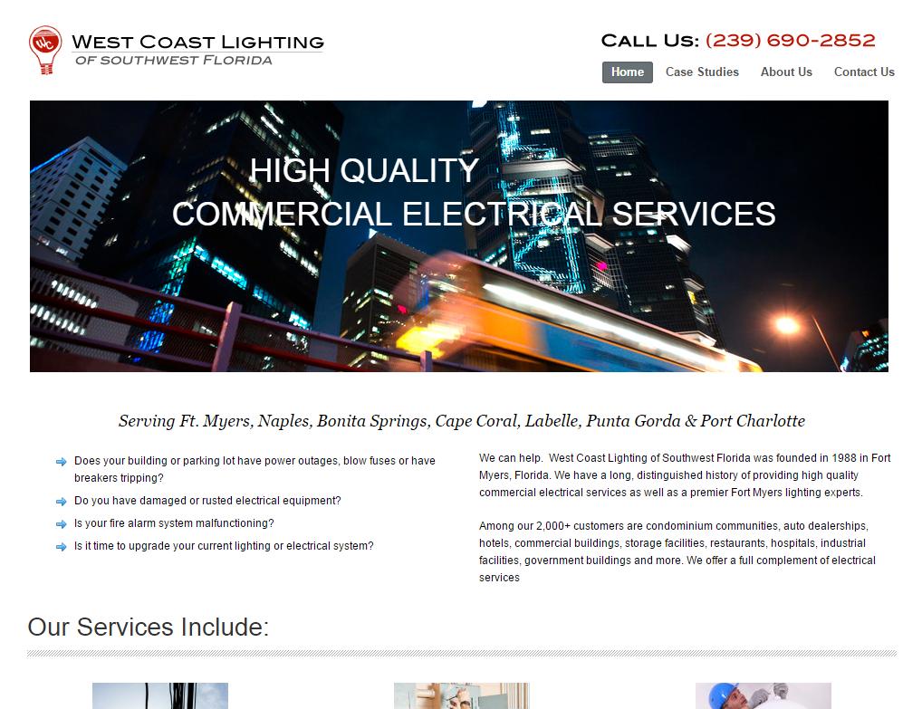 wc lighting homepage