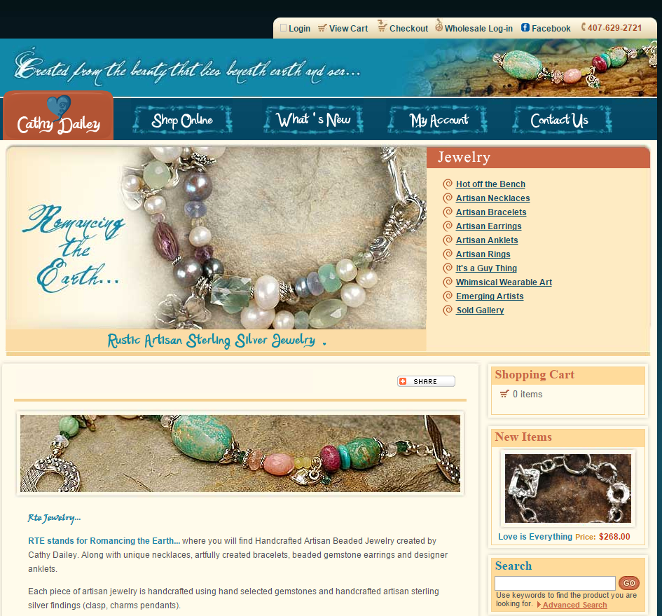 RTEjewelry Homepage