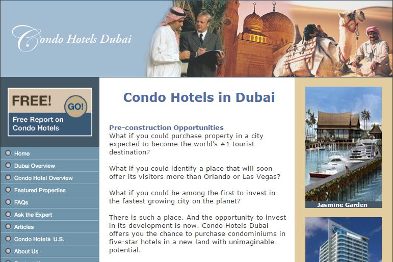 condo hotels dubai