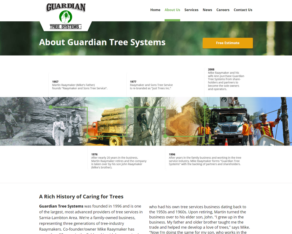 guardian tree systems about us page