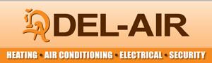 Del-Air Logo