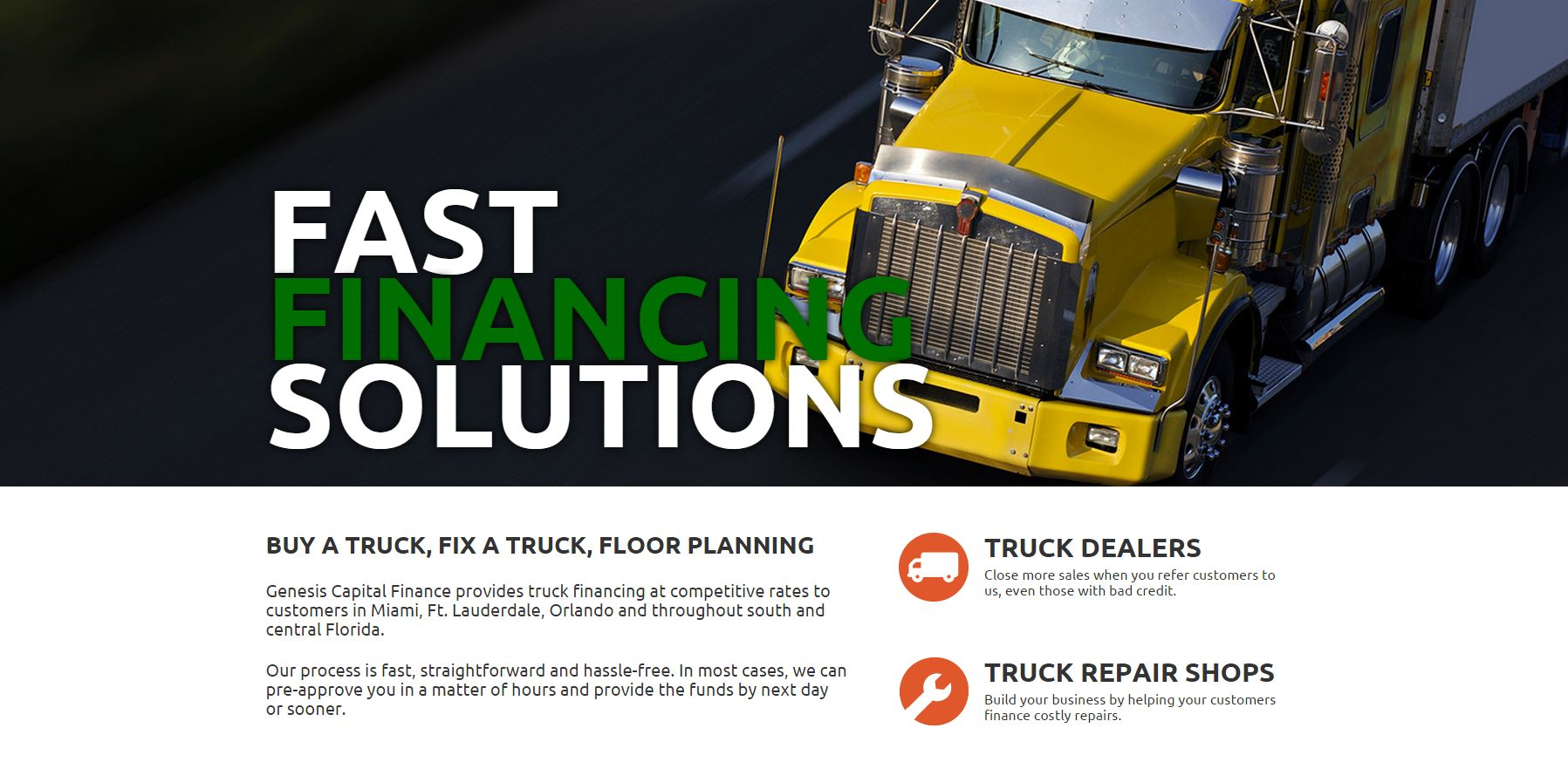 Truck Homepage