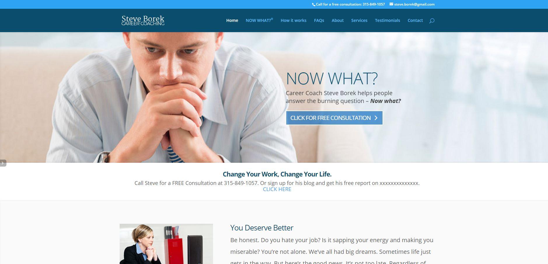 Steve Borek Homepage