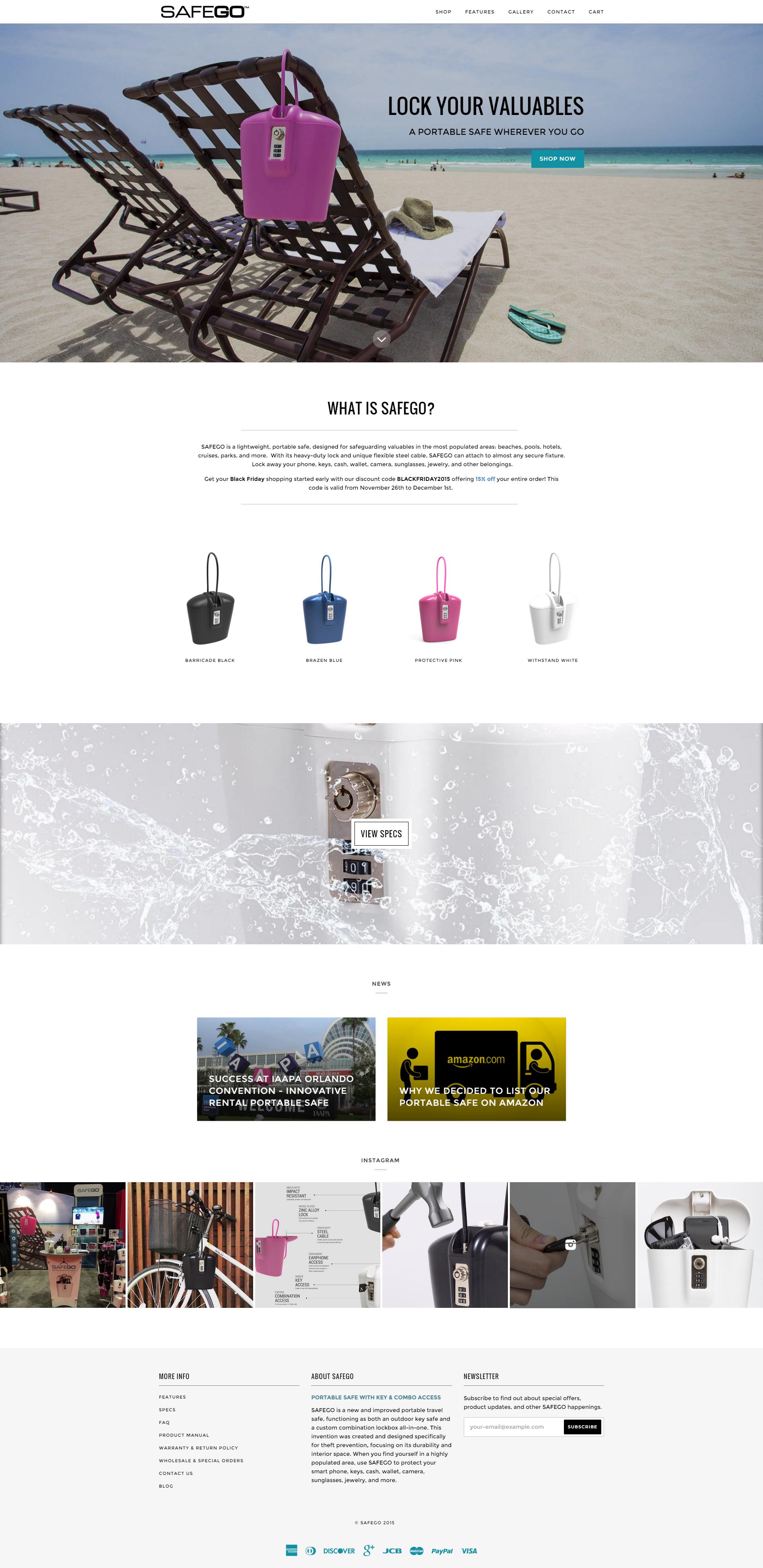 SafeGo Website