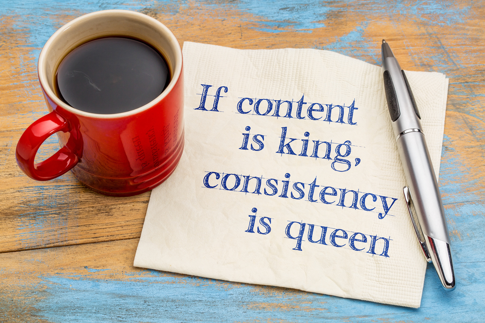consistent content marketing