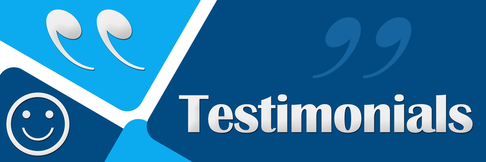 Obtaining customer testimonials