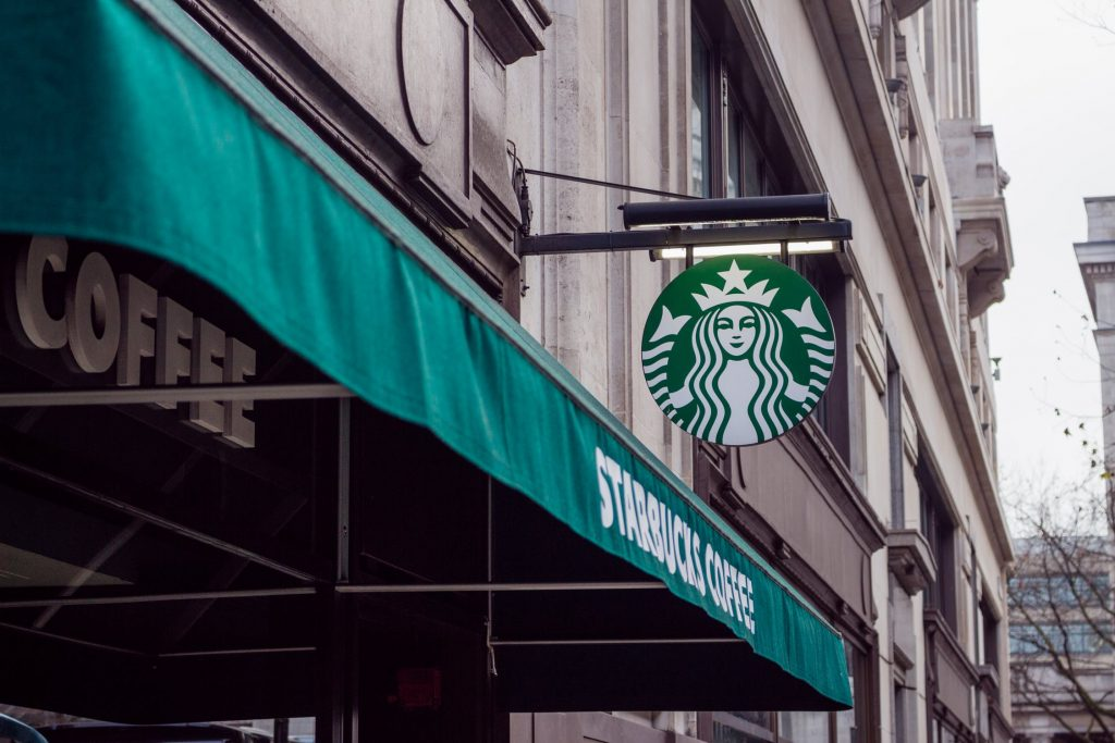 Starbucks meeting - freelance copywriters