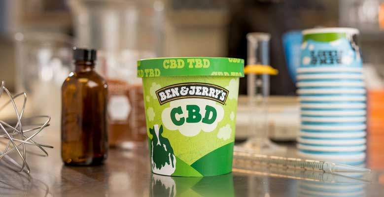 CBD-infused Ben & Jerry's ice cream