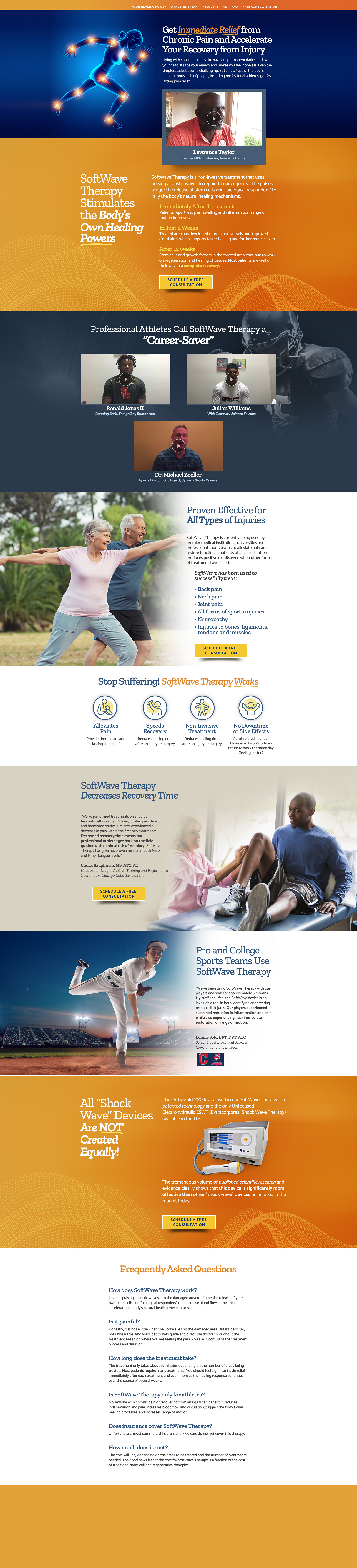 Therapy Landing Page