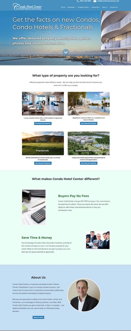 condo hotel business