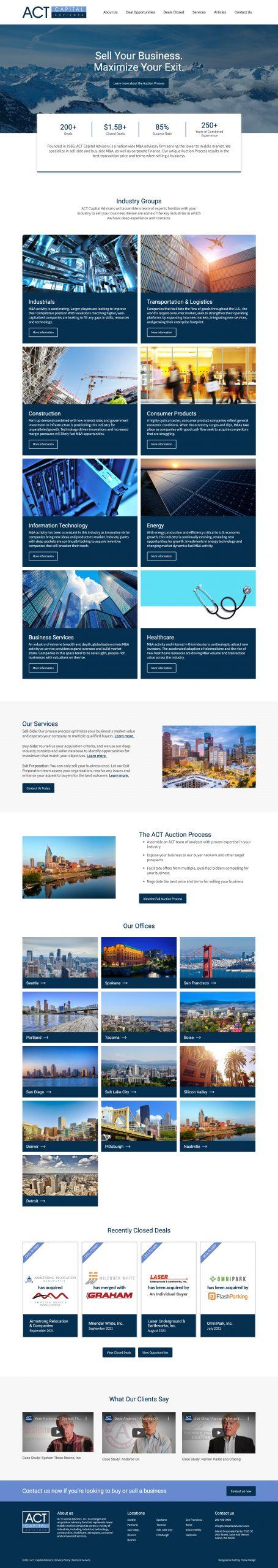 ACT Capital Advisors, M&A firm